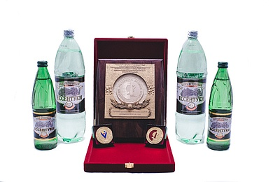 """Essentuky 4"" and ""Essentuky 17"" received two gold medals"
